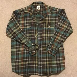Vintage stussy flannel